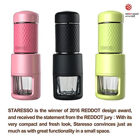 Staresso Mini Coffee Maker Espresso Coffee Cappuccino All In 1 staresso coffee maker with espresso cappuccino cold brew all in one bright black tec