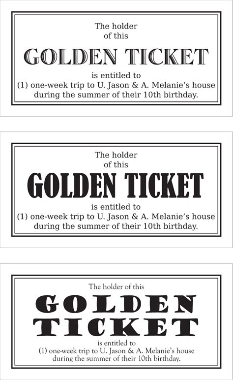 printable golden ticket template printable template 2017