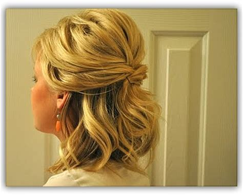 pulled back hairstyles for shoulder length curly hair pulled back medium length hairstyles 13 best images