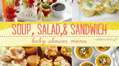 1000 ideas about baby shower menu on baby
