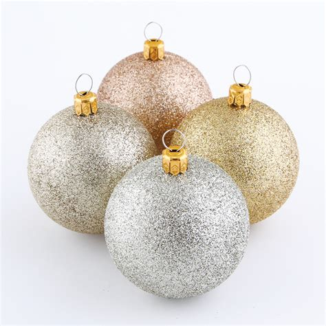 jaclyn smith 9ct 60mm ball shatterproof christmas