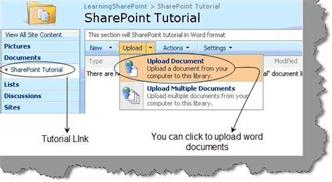 tutorial sharepoint website sharepoint server tutorial pdf
