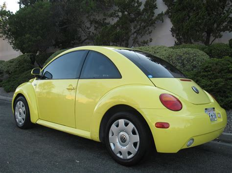 volkswagen beetle yellow 1999 volkswagen new beetle gls yellow manual