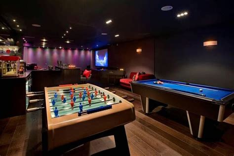luxury man cave game room bar man caves