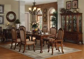Elegant Formal Dining Room Sets by Formal Dining Room Table Collection 7 Piece Set Classic