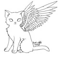 14 images warrior cats wings coloring pages winged cat coloring pages coloring
