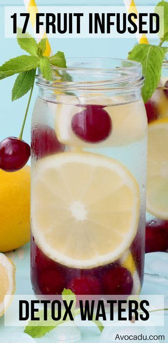 Fruit Flush Detox Results by 17 Detox Water Recipes For Weight Loss Infused Waters