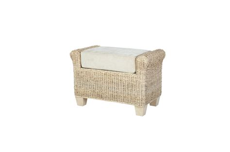 Wicker Foot Stools by Rossby Wicker Rattan Conservatory Furniture Footstool