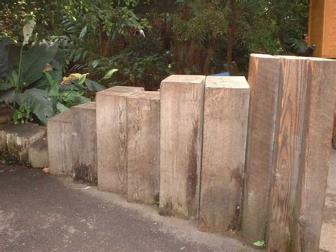 Sleeper Wall Design by Railway Sleepers