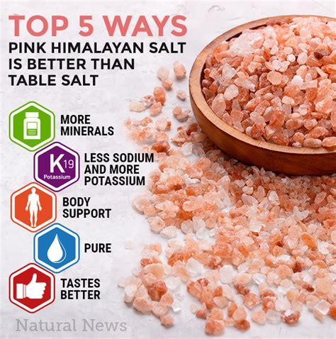 Is Himalayan Salt Or Epsom Salt Better To Detox by Top 5 Ways Pink Himalayan Salt Is Better Than Table Salt