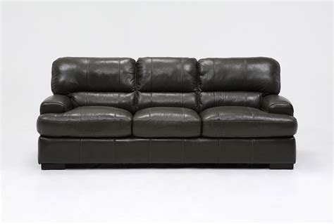 living spaces leather sofa andrew leather sofa living spaces