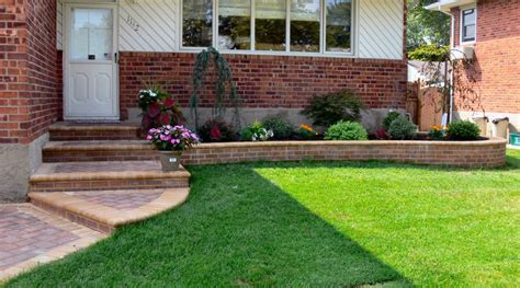 Landscape Your Backyard How To Landscape Front Yard In Minimalist Ways