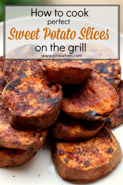 how to bake a perfect sweet potato the freckled foodie how to cook sweet potatoes on the grill pinkwhen