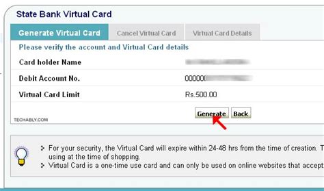 How To Use Sbi Gift Card - how to use sbi virtual card vcc to pay online