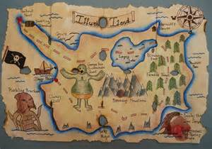 treasure maps pirate treasure map this student burnt some holes and