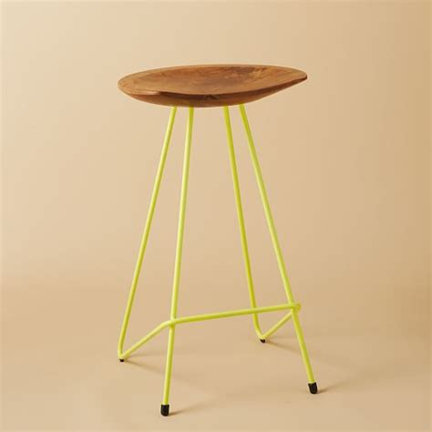 perch bar stool perch counter stool west elm