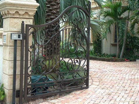 Wrought Iron Gate Gallery » Home Design 2017