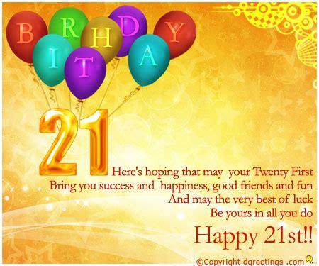 happy 21 birthday quotes quotesgram
