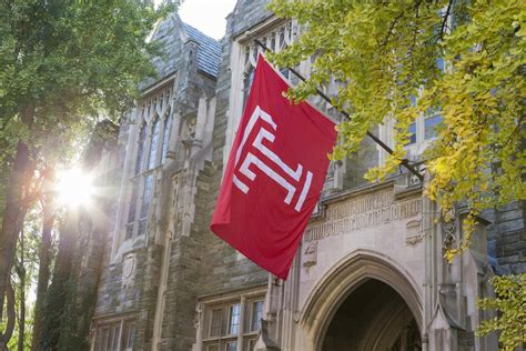 Temple Mba Application Requirements temple reaches height of carnegie research