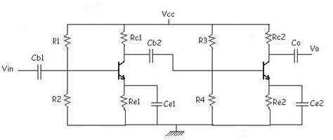 bjt transistor lifier design 2 stage bjt lifier