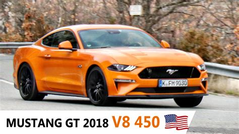 Ford Mustang Acceleration by Nouvelle Ford Mustang Gt 2018 Acceleration Sound V8