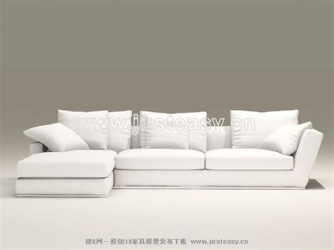 sofa 3d model free download white sofa combination of personality more than sofa