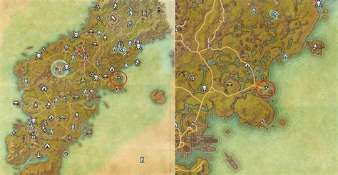 glenumbra treasure map eso glenumbra ce treasure map digging location eso