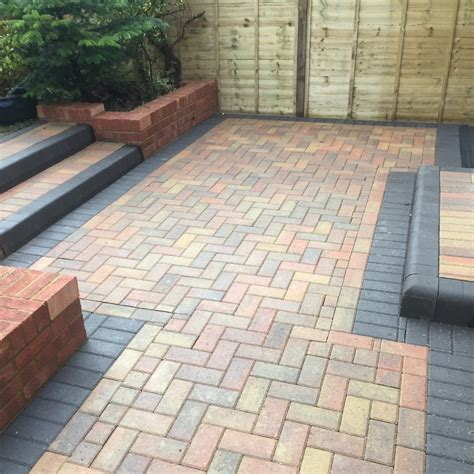 block paving patio patios paths broadoak paving