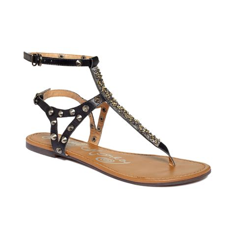 Monkey Luxury Heels by Monkey Heartbeats Flat Sandals In Black Lyst