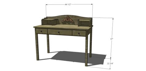 Woodworking Plans For Childrens Desk