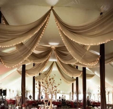 wedding draping fabric wedding tent decorations ceiling google search wedding