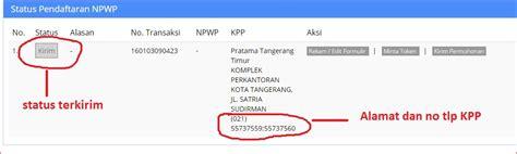 membuat npwp kpp cara membuat npwp online
