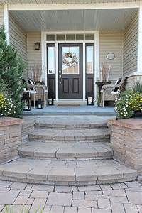 Ideas For Steps For Front Door by Curb Appeal Ideas And Porch Decor Tips Setting For Four