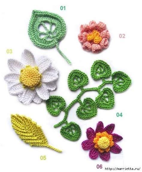 flores de crochet delicadezas en crochet gabriela ramos de flores en