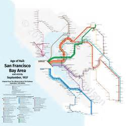 San Francisco Train Map by A Subway Style Map Of Bay Area Trains From 1937 Citylab