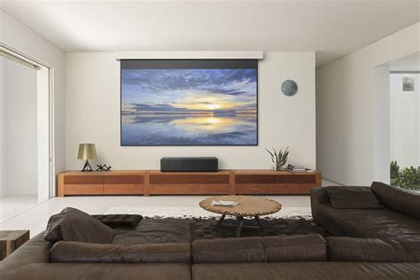 best tv size for living room projectors vs tvs which is best for your home theater