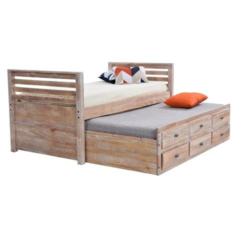 twin captains bed with bookcase headboard captain beds palomino twin captain bed acme san marino