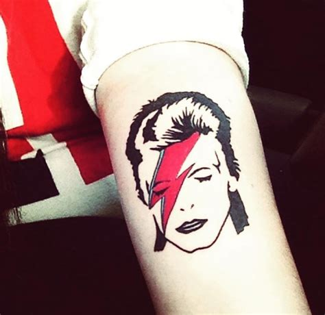 bowie tattoo some mega fans tell us why they got david bowie tattoos