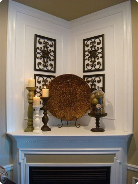 decorating a corner 17 best ideas about corner fireplace mantels on pinterest