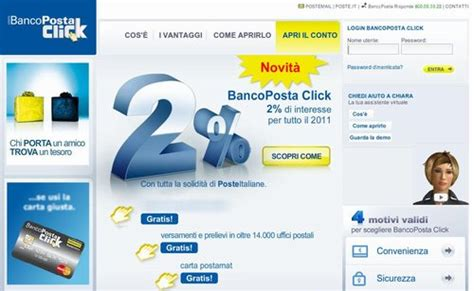 costi banco posta costi bancoposta click borsa forex