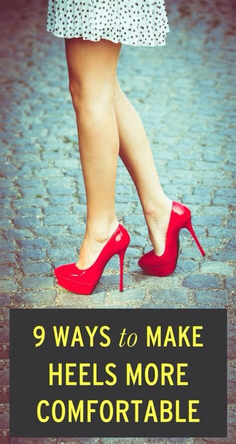 tips to make a comfy 9 ways to make heels more comfortable musely