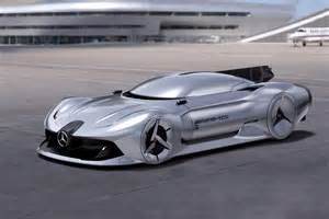 Mercedes Concept Cars Check Out The Fierce Mercedes 2040 Streamliner