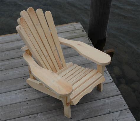adirondack glider chair kit mc71 childrens muskoka adirondack chair kit in 1 quot solid