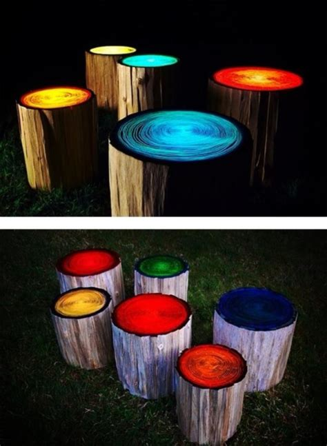 glow in the paint garden projects upcycled garden style a website from gardens inspired