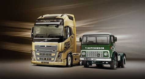 Celebrating Home Interior volvo trucks celebrate 50 years in the uk with the launch