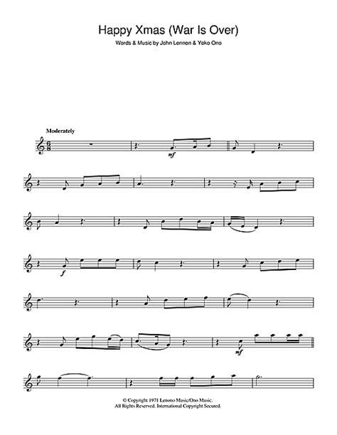 strumming pattern happy xmas war over john lennon happy xmas war is over sheet music