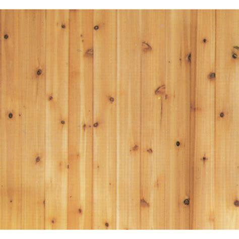 brown paneling shop evertrue 3 5625 in x 8 ft v groove brown cedar wood
