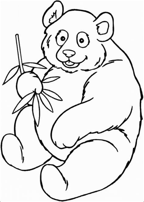 coloring page panda panda printable coloring pages coloring pages