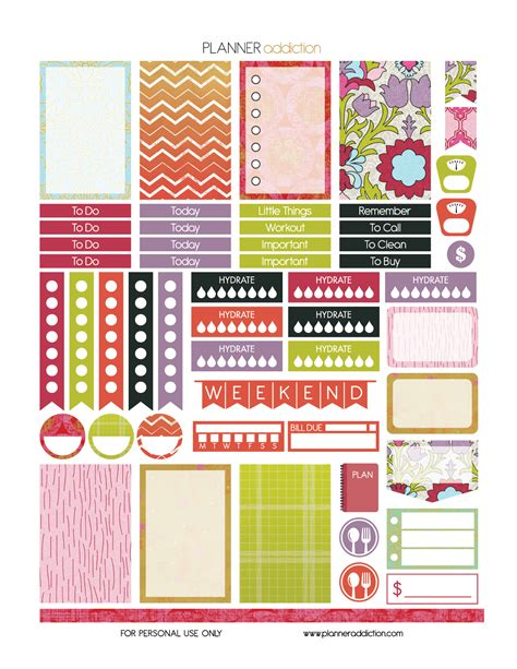 printable planner stickers pdf free printable summer planner stickers pdf jpg and