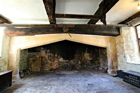 Barton Fireplaces by Shute Barton National Trust Historic House Guided Tour
